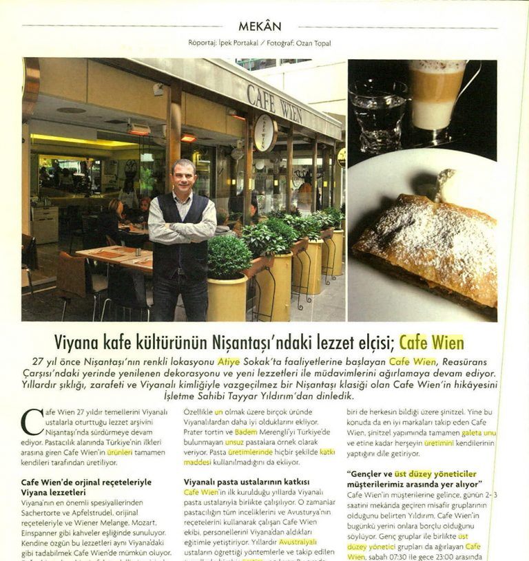 Cafe Wien - Food in Life