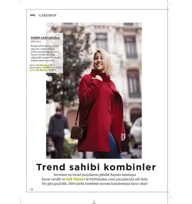Faik Sönmez - All Dergisi
